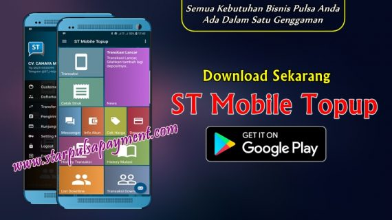 Aplikasi Android Star Pulsa Mobile