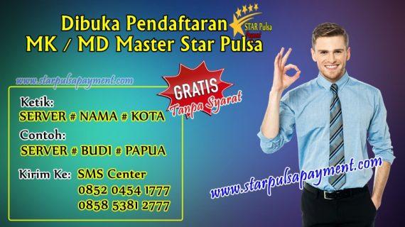 Cara Daftar MK Master Dealer Star Pulsa