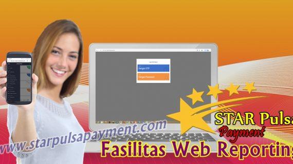 Fasilitas Web Report Star Pulsa